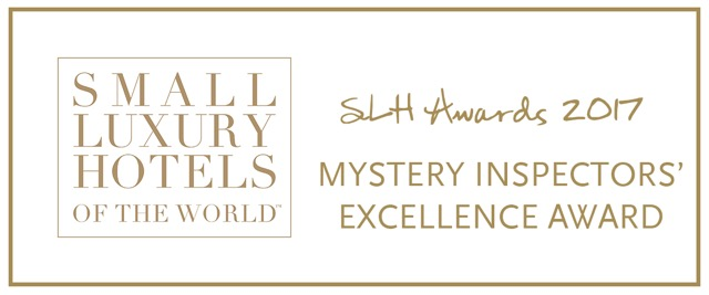 Casas del XVI Receives the 2017 Mystery Inspector's Excellence Award by Small Luxury Hotels of the World